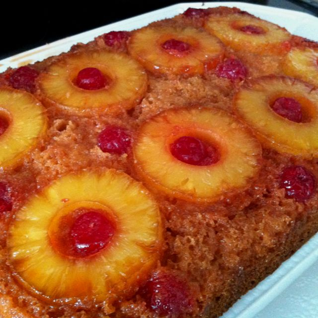 Easy Pineapple Cake Recipes From Scratch: Easy Pineapple Upside-Down Cake