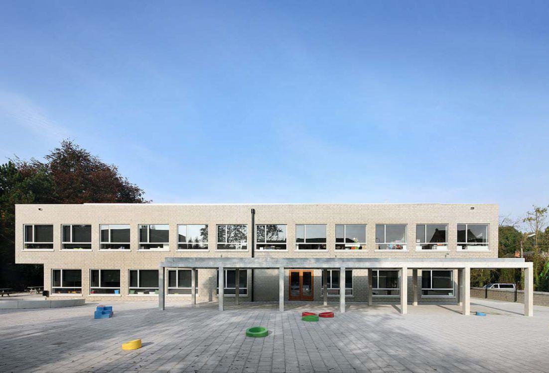Architectenbureau Bart Dehaene - Basisschool De Brug te Erpe-Mere, 2012-2016