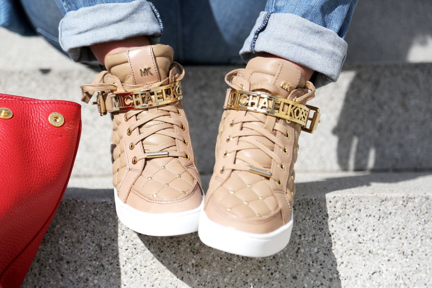 have a nice day :) | #MK #Michael #Kors #sneaker | MK | I