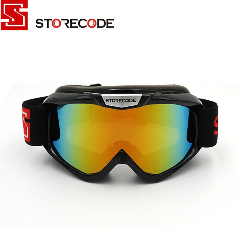 83424384ae3 StoreCode Brand Ski Goggles Double Lens Anti-Fog UV400 Snowboard Glasses  Men Women Black Frame