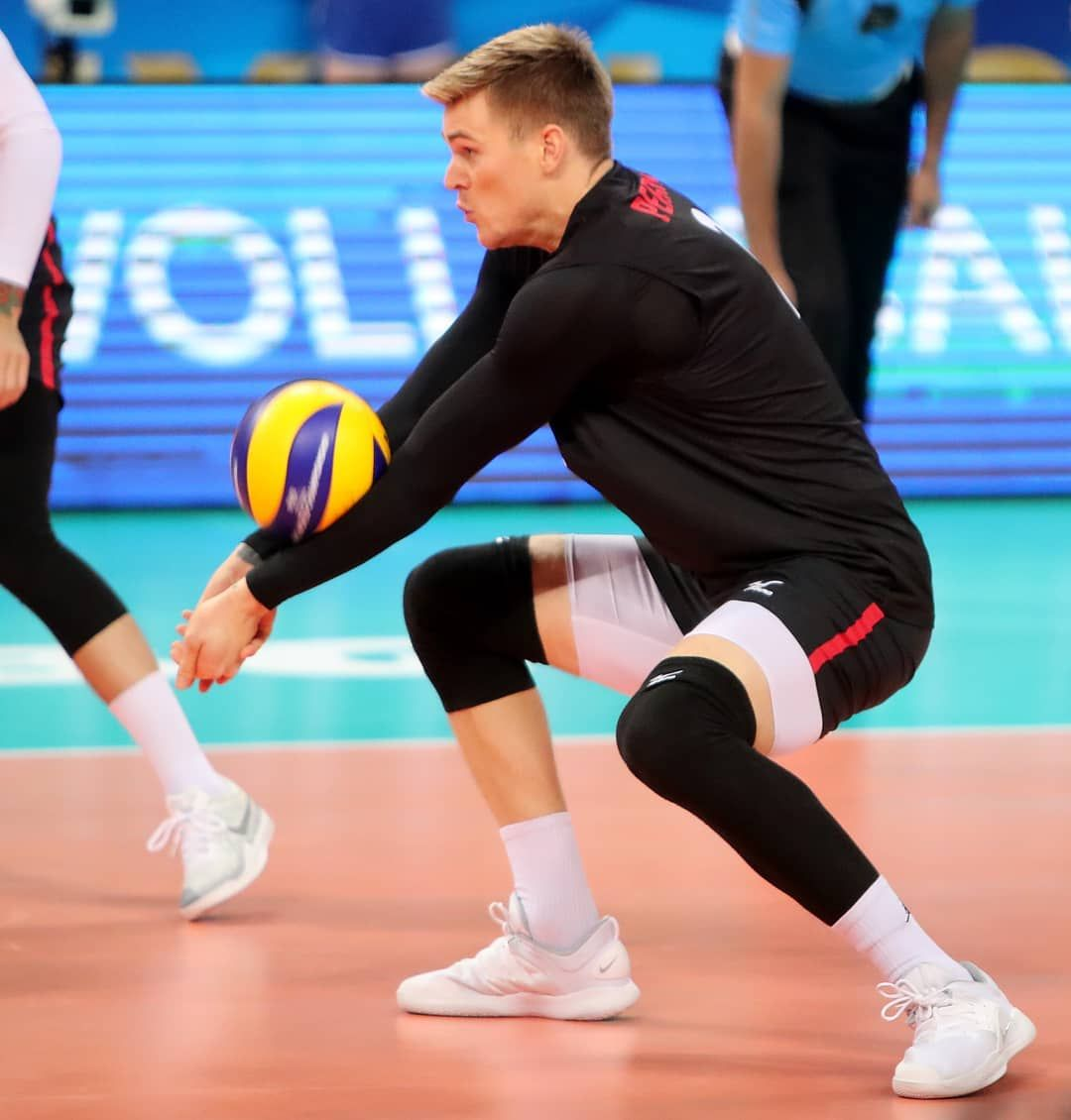 The Canadian Captain John Perrin 29 Yo 2 01m Wing Spiker Jersey 2 He Had Passed Through Many Volley American Games Rio Olympics World Championship