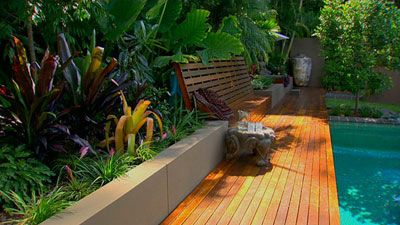 Tropical Garden Designs For Small Gardens thorplccom Pool