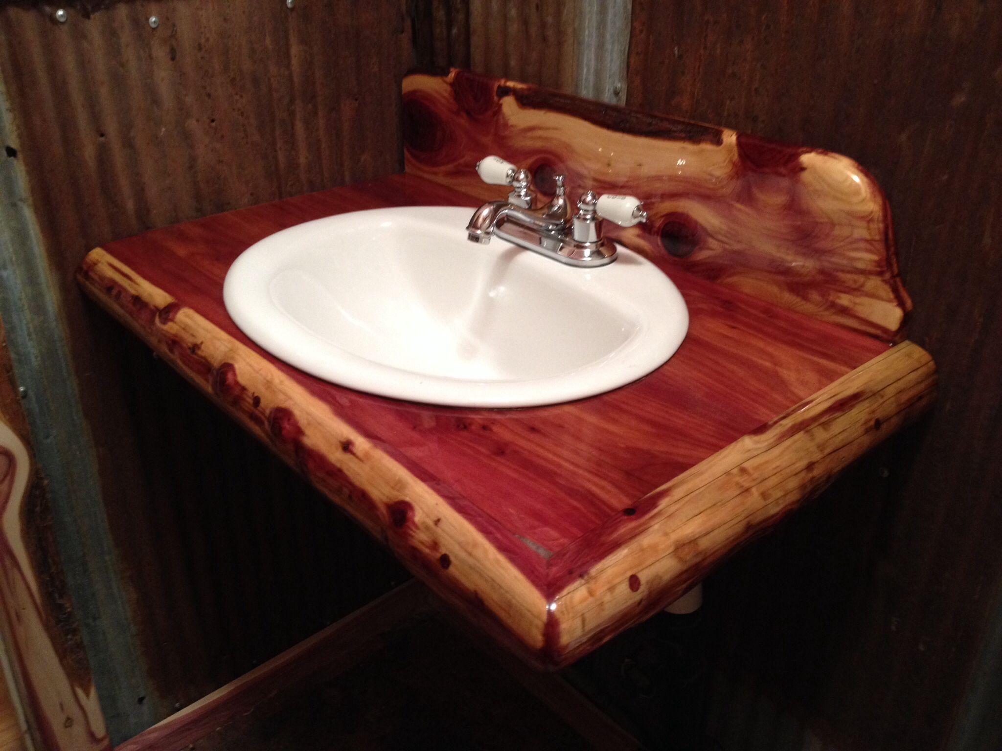 32++ Red cedar bathroom vanity type