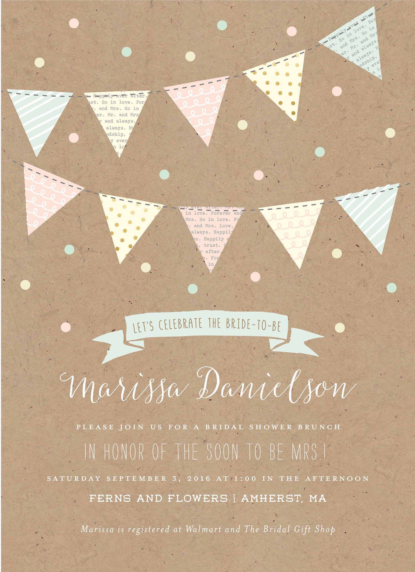 cheap bridal celebration banner light brown walmart bridal shower invitation template bridalshower invitation templates collection