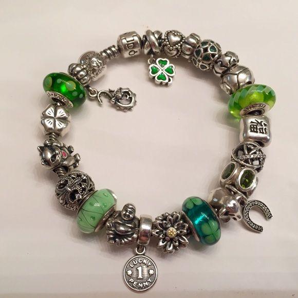 pandora good luck bracelet