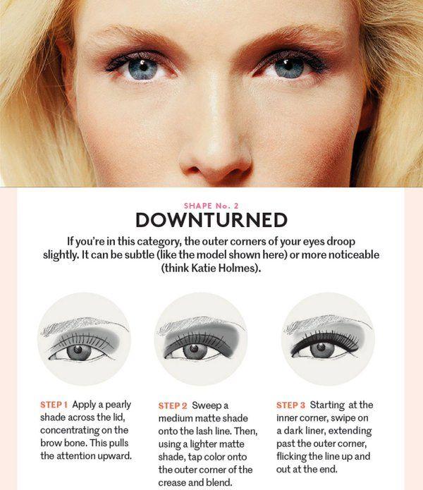 Downturned Eyes Google Suche Hair Makeup Nail Polish In 2018