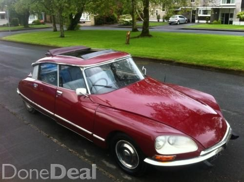 19932be4ad Citroen DS 21 For Sale in Cork   €3