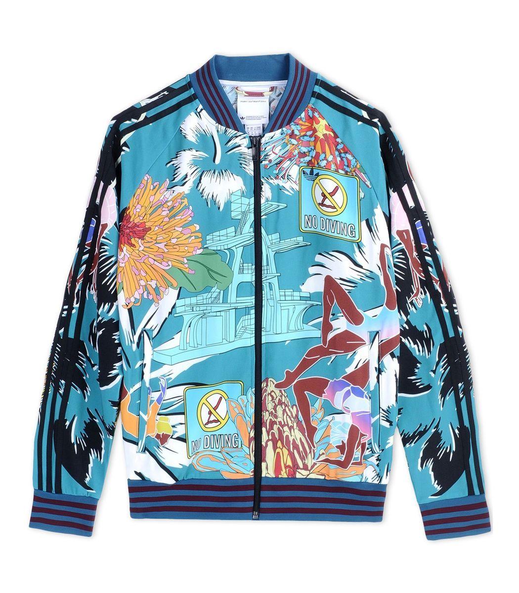 4a2efc2b1391 Adidas X Mary Katrantzou Printed Track Jacket