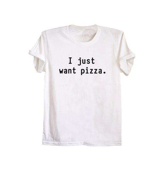 772b4e1bf7 Pizza shirt pizza lovers tshirt tumblr grunge graphic tee women funny pizza  t shirts with sayings si