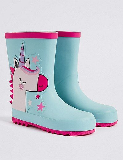 Kids Unicorn boots | Zapatos para niñas