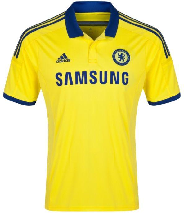Chelsea 2014-15 adidas Away Kit  330e74fc6