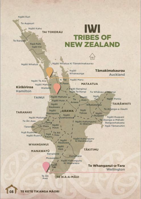 New Zealand Maori Map.Map Of Nz Maori Iwi North Island Maori Mana Aotearoa Maori