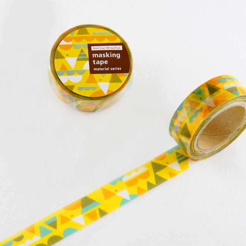 Bird Washi Tape • Round Top Masking Tape Material Michemon
