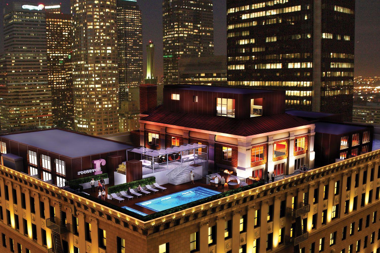Los Angeles Apartments, Downtown LA Lofts for Rent | The Roosevelt