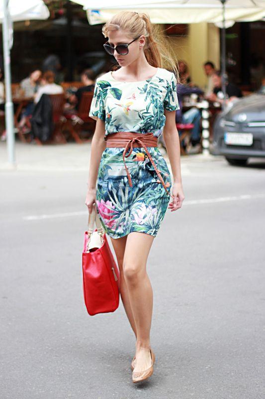 Sirma Markova: tropical vibe in the city