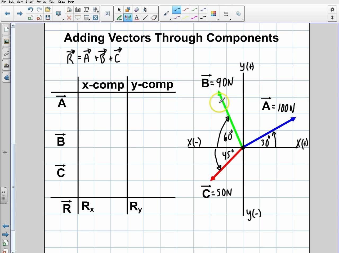 Physics Introduction To Vectors Part 4 Physics Math Geometry Calculus Vector physics adding vectors