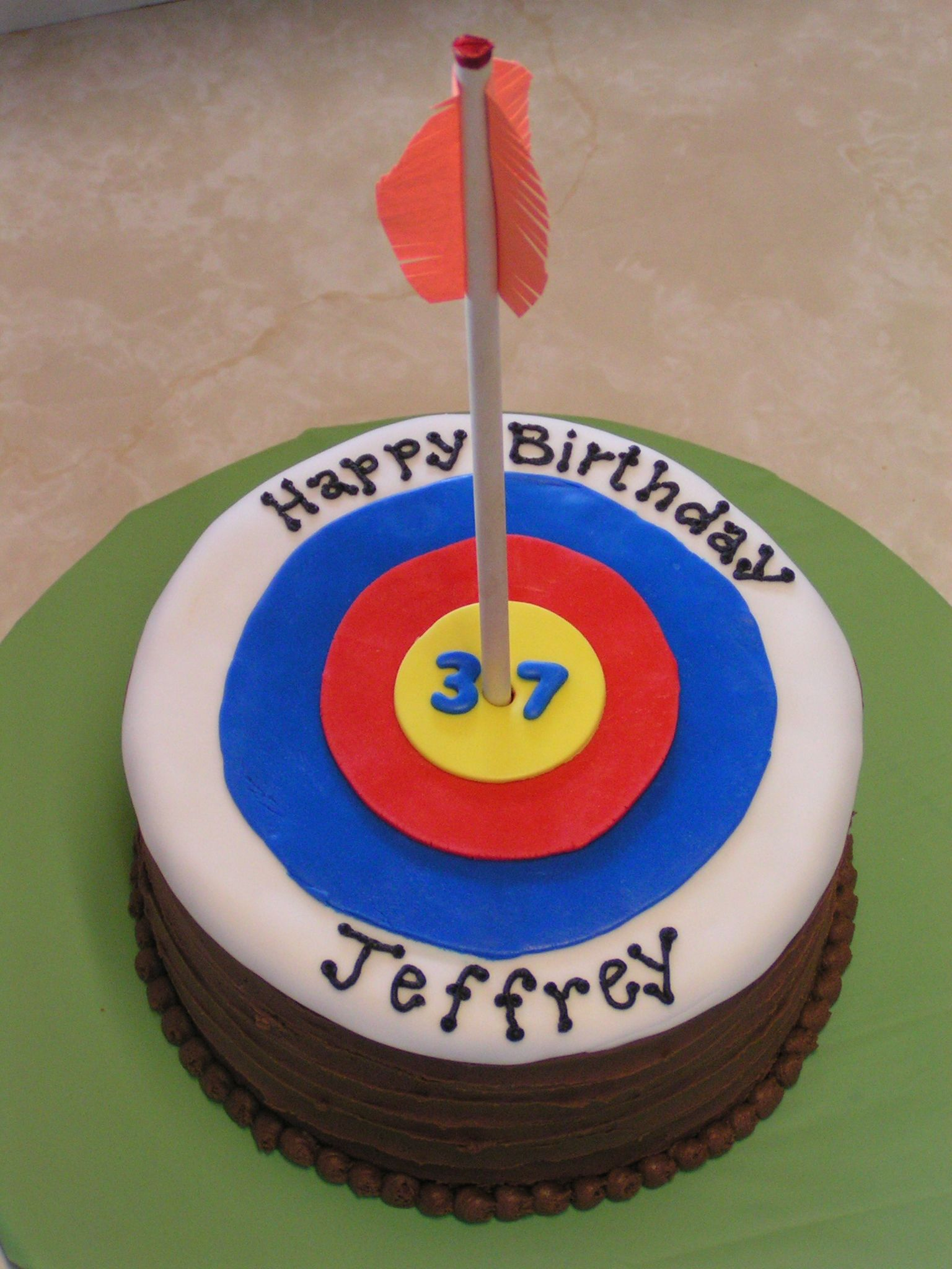 Archery Target Cake My Creations Pinterest Archery Cake and