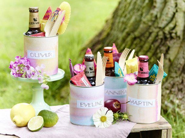 4 deko ideen f r ein sommerliches picknick im gr nen - Wunderweib deko ...