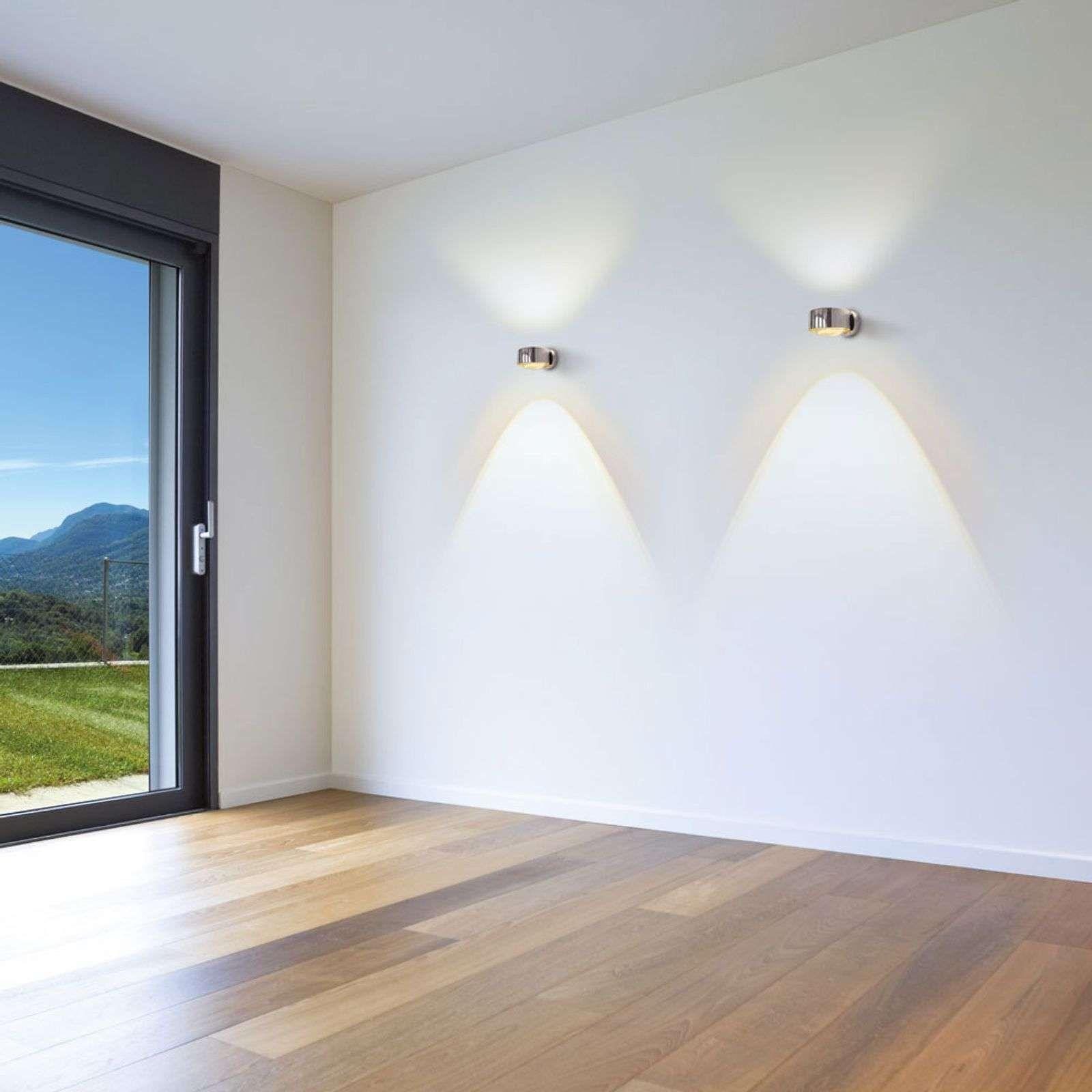 Led Wandleuchte Puk Maxx Wall Chrom In 2020 Treppenhaus Beleuchtung Led Lampen Decke Und Lampen Treppenhaus