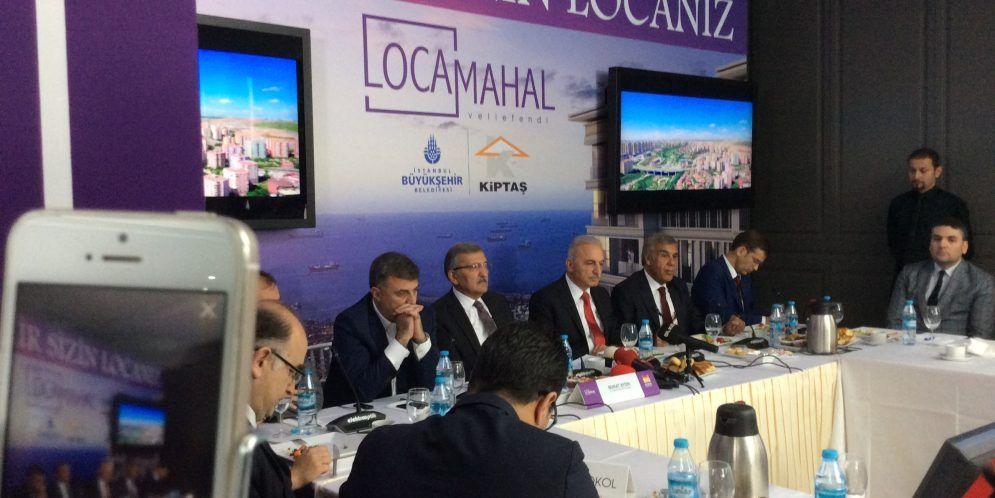 Kiptaş Locamahal Veliefendi lansmanı CANLI