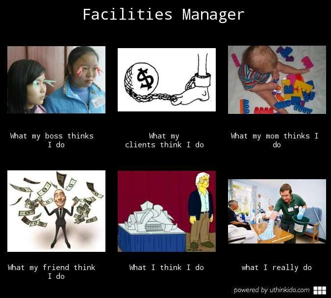 Maintenance Operations Stem Facility: Facilities Management Humour