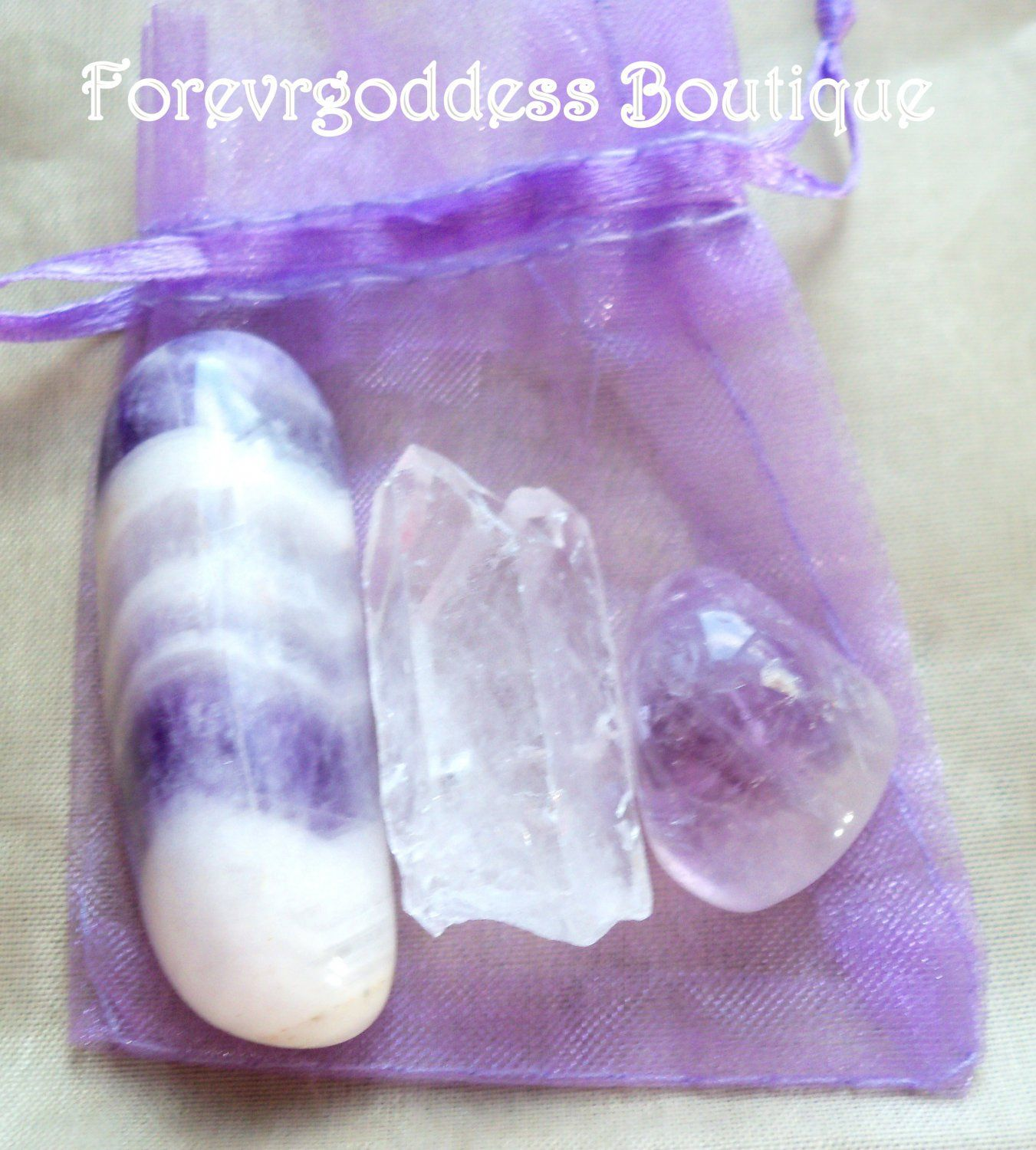 Item Abck 01 They Represent Amethyst All Healing Inner Peace