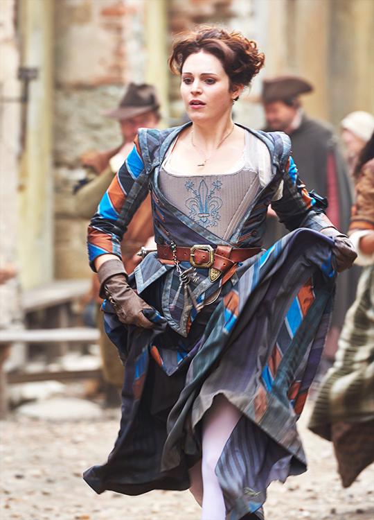 Tamla Kari in 'The Musketeers' (2014). x