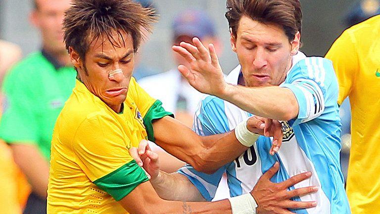 Messi y Neymar, protagonistas del Mundial en Twitter