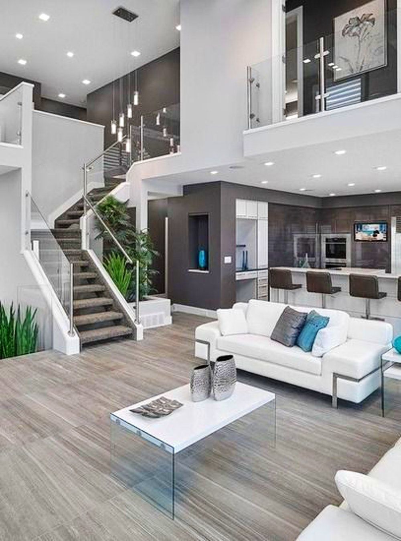 Homedesign Livingroomdecor Inspiration Inspiration For A Contemporary Open Concept Living Room In Edm Modern House Design House Interior Dream Home Design