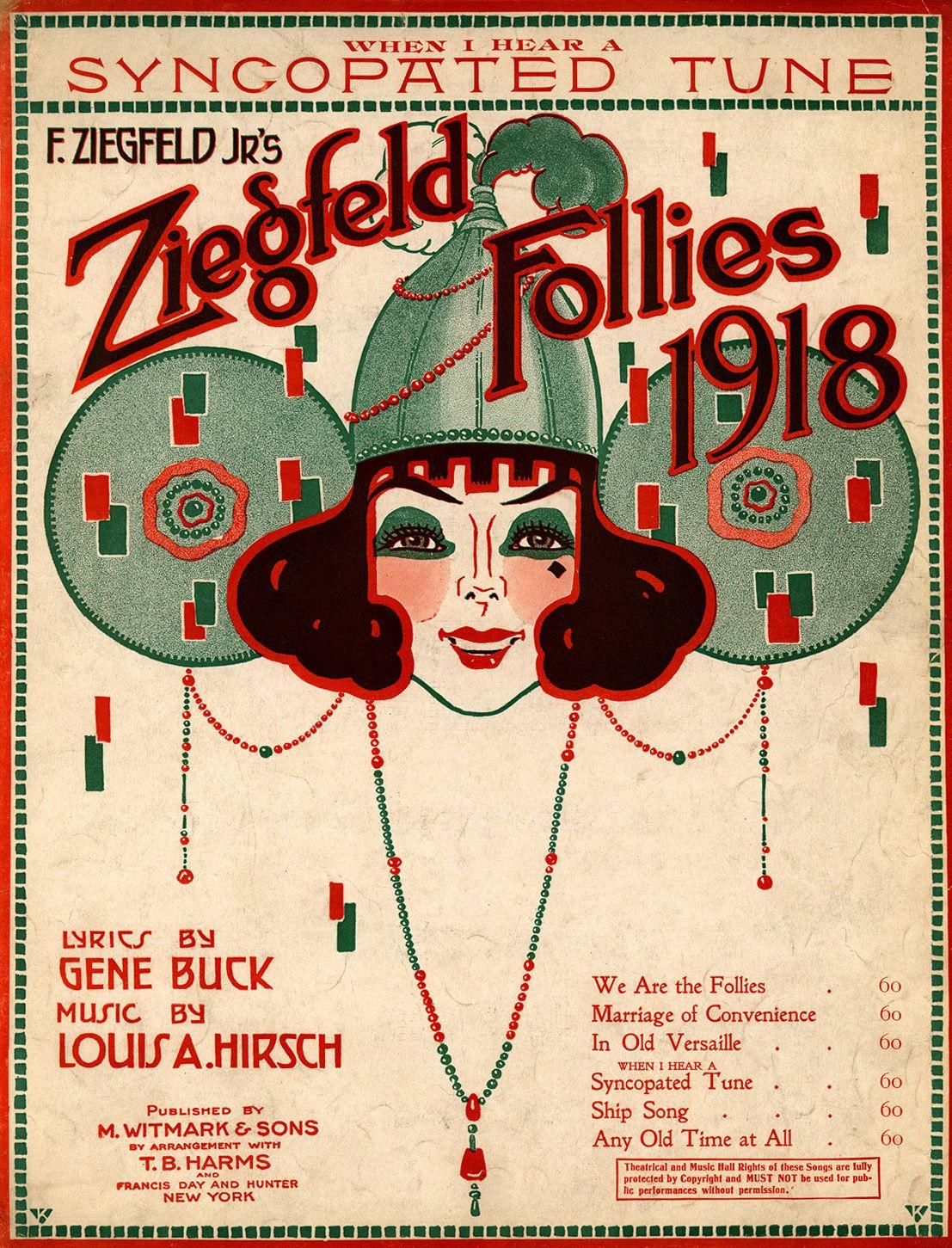 The Amazing Showman of the 1900's, Florenz Ziegfield   Music