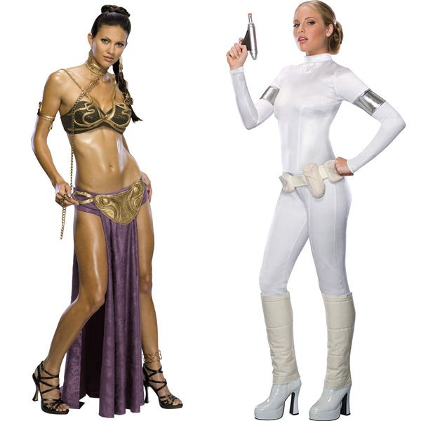 Tankoo women's sexy princess leia slave costume miss manners uniform