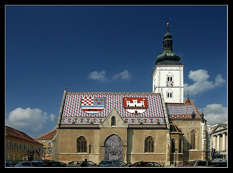 Markova Crkva Zagreb Croatia Croatia Travel