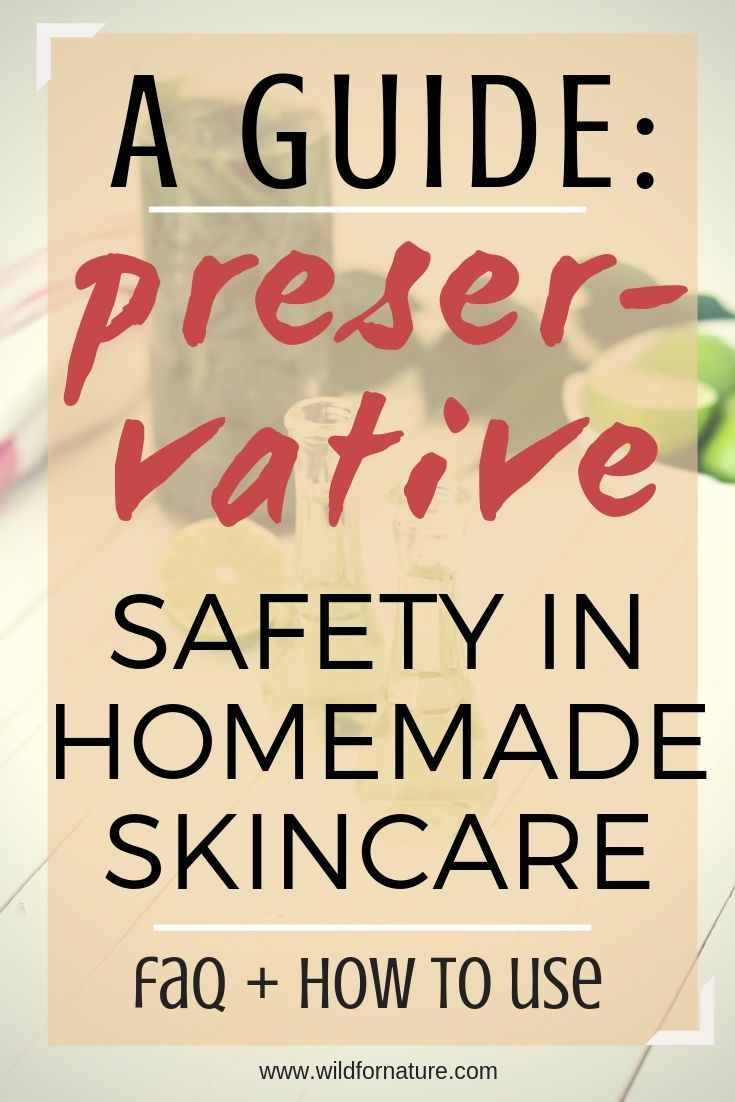 Do You Really Need Preservatives in Homemade Cosmetics? #homemadeskincare