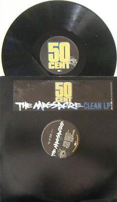 @11Main 50 CENT THE MASSACRE 2005 VINYL CLEAN PROMO LP X2 INTR-11361-1 DR. DRE EMINEM: 50 CENT THE MASSACRE 2005 VINYL CLEAN V...