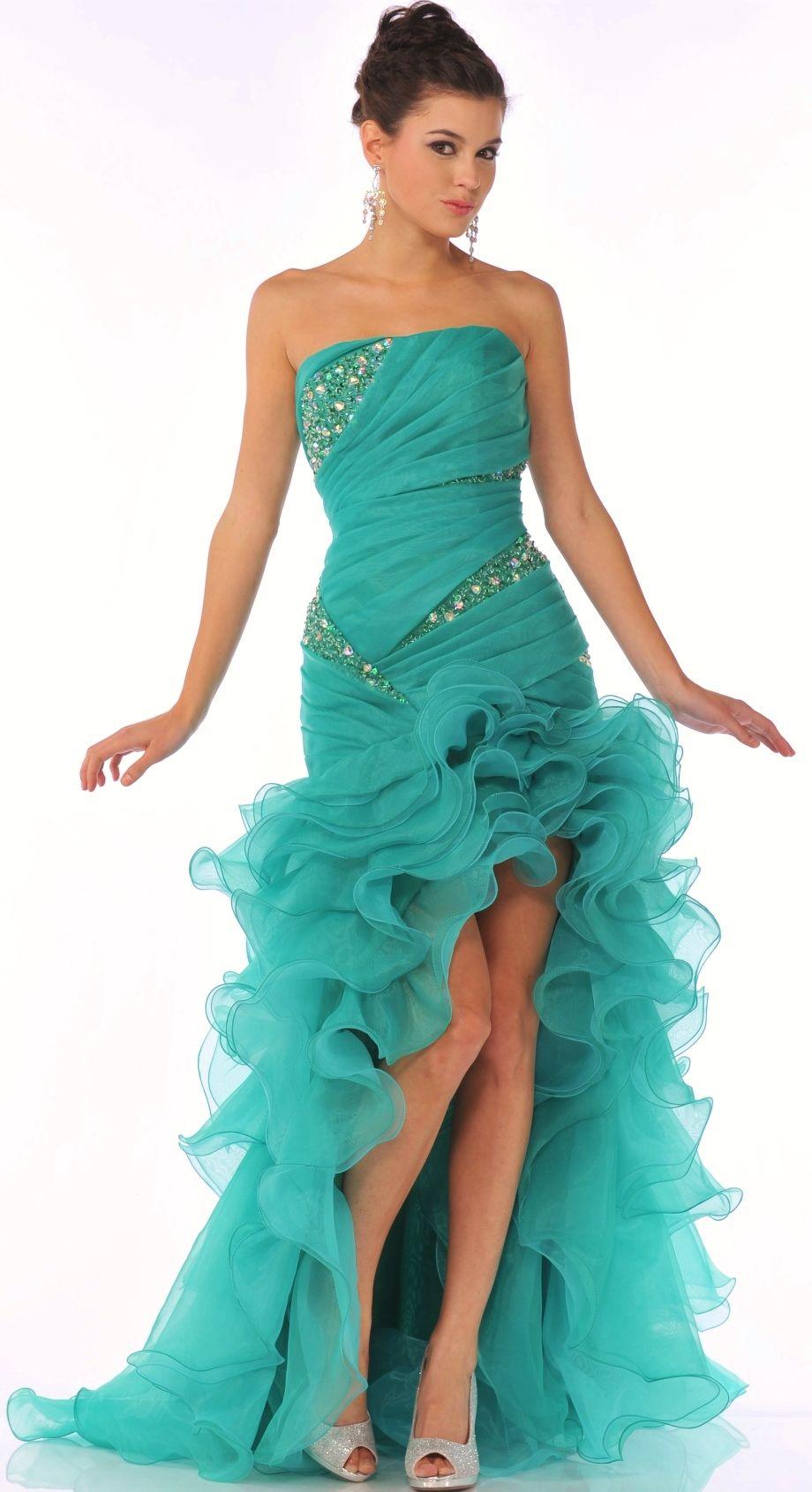 High-Low Prom Dress @ DressDress.net   Wedding Dress   Pinterest ...