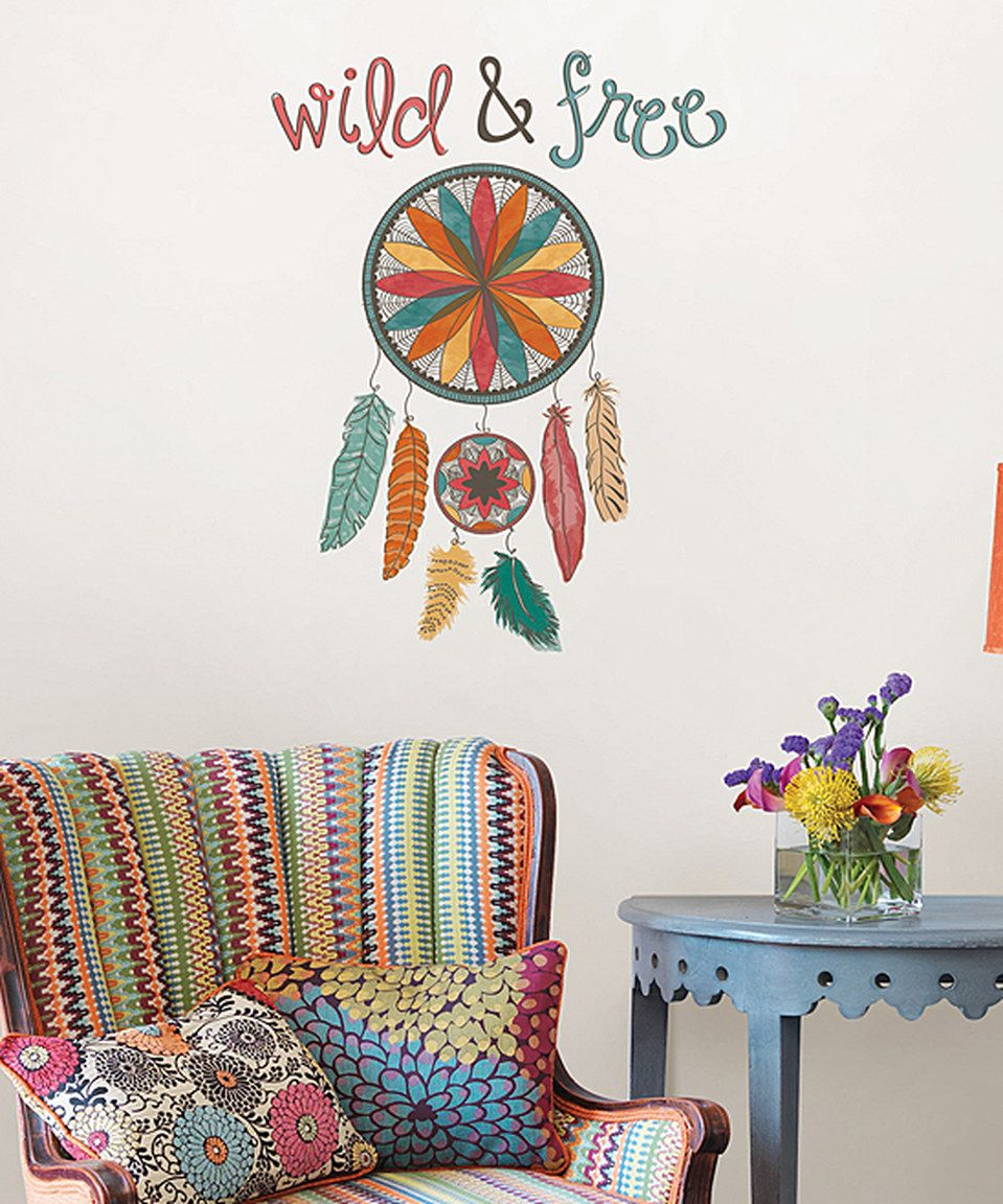 Another great find on #zulily! 'Wild & Free' Wall Decal Set by WallPops! #zulilyfinds