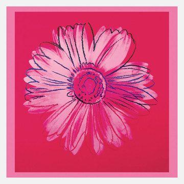 My design inspiration: Warhol—Daisy, Crimson & Pink on Fab.