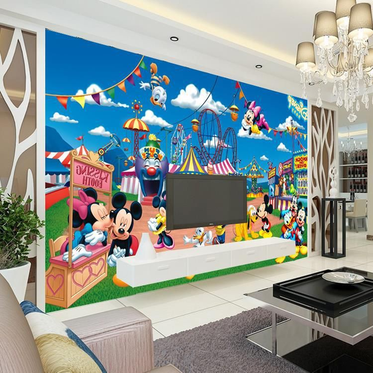 popular mickey mouse murals buy cheap lots from clubhouse mural