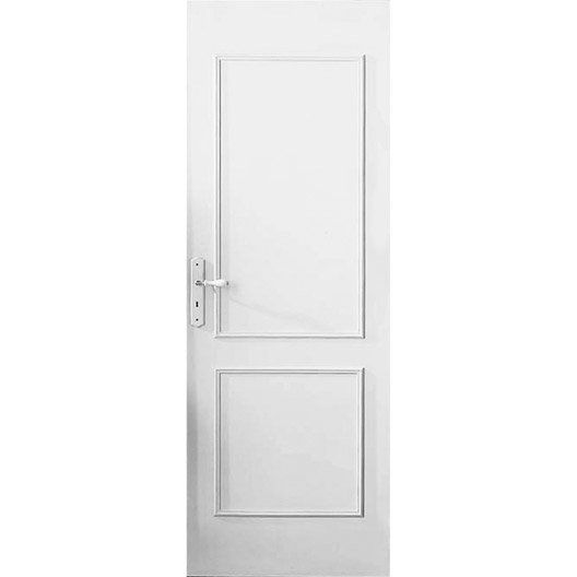 D cor de porte de 2 panneaux traverse droite en bois for Porte 5 panneaux