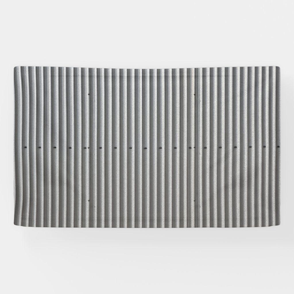 Corrugated Metal Background Banner Zazzle Com In 2020 Corrugated Metal Metal Panels Facade Metal Background