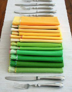 Spring Napkins- There's still a little bit of spring left! Make your own napkins from this easy sewing tutorial. This is a great project to take advantage of if you have a celebration to host!