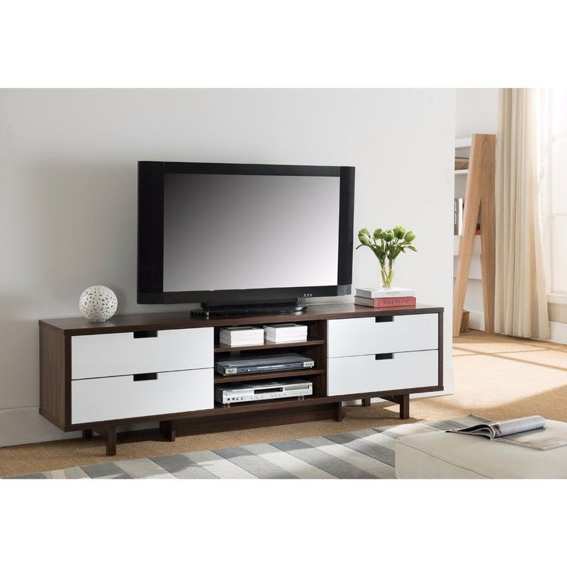 Janke Tv Stand For Tvs Up To 78 Home Entertainment Furniture Furniture Drawer Handles