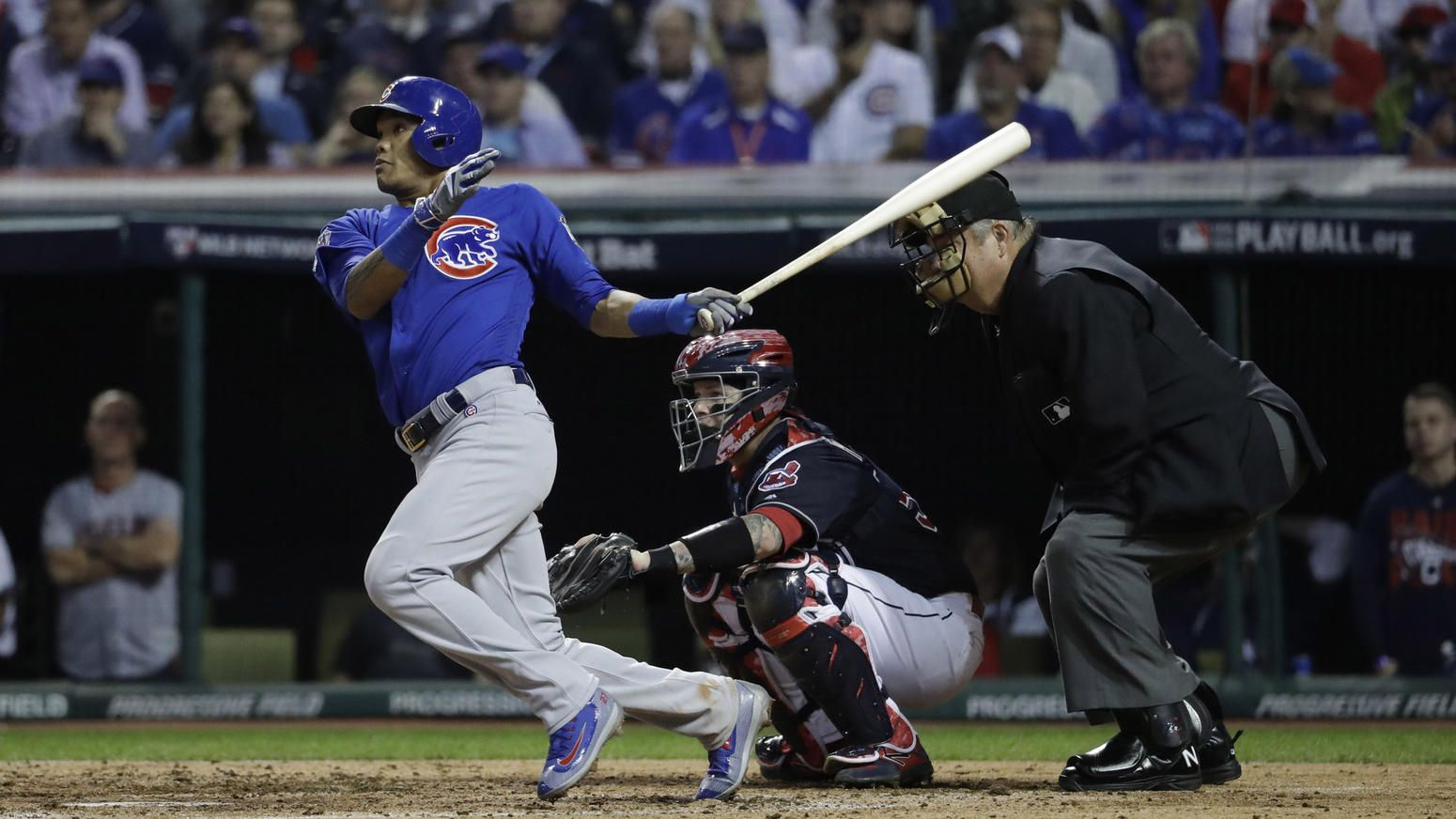 Cubs Beat Indians 9 3 To Force Decisive Game 7 In World Series Cubs World Series Cubs World Series