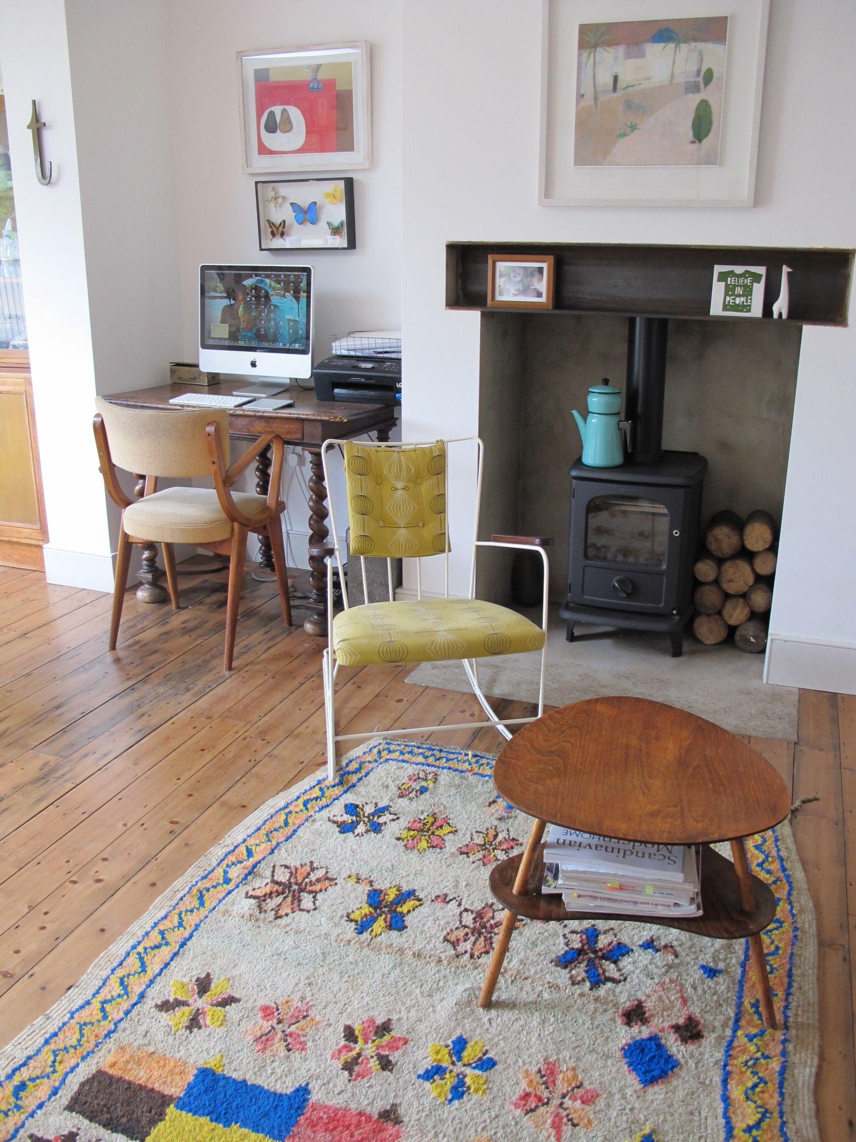 Beldi rugs | Tamsin Wright's house | creative desks