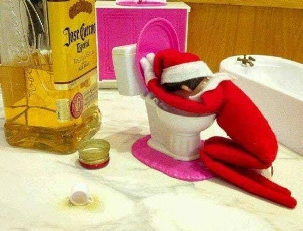 25 Horribly Inappropriate Ways To Pose Your Elf on the Shelf