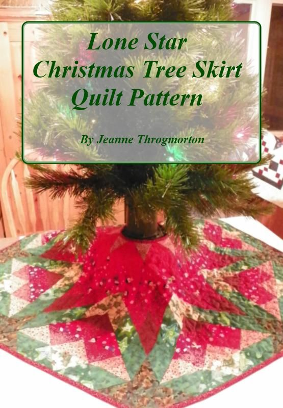 Christmas Tree Skirt Pattern For Sale