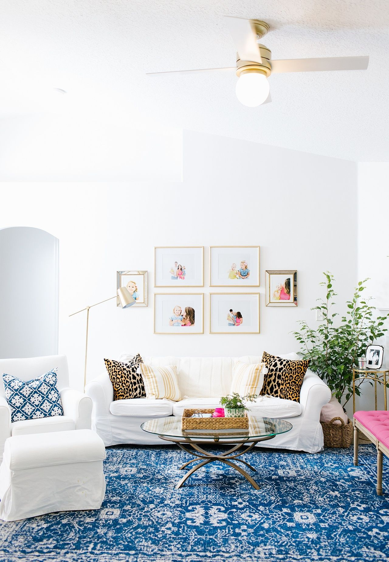 Family Friendly, Bright and Colorful Living Room   Colorful living ...