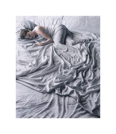 Sarah Sleeping, Kent Bellows, Pastel, 1998. Just amazing what he was able to do achieve with pastel.