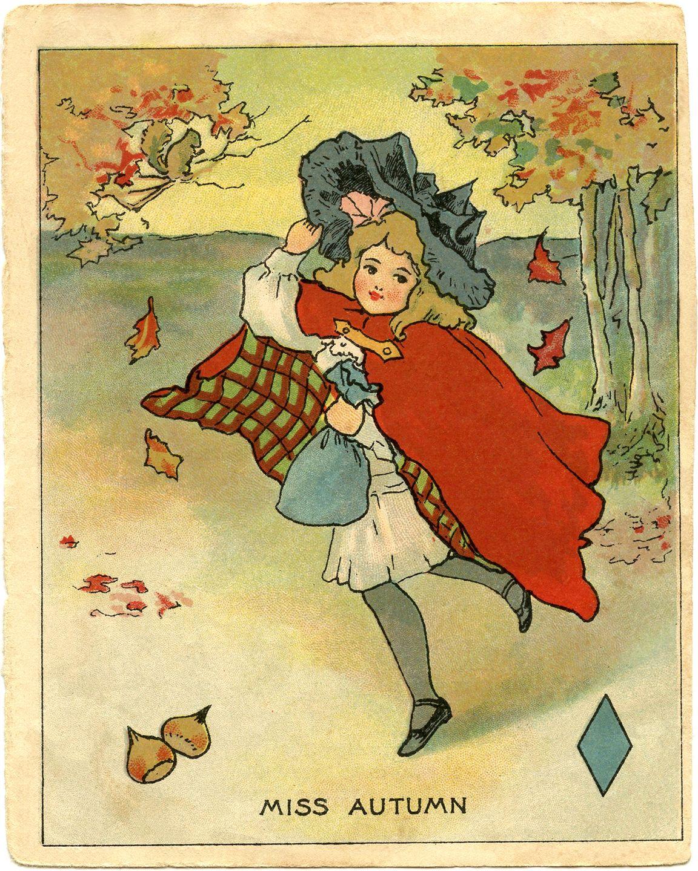 Ретро открытки осень фото, анимация винкс превращение