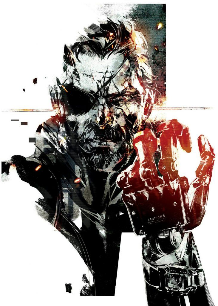 the art of metal gear solid v the phantom pain 50 concept art dbz movie covers poster ideas. Black Bedroom Furniture Sets. Home Design Ideas